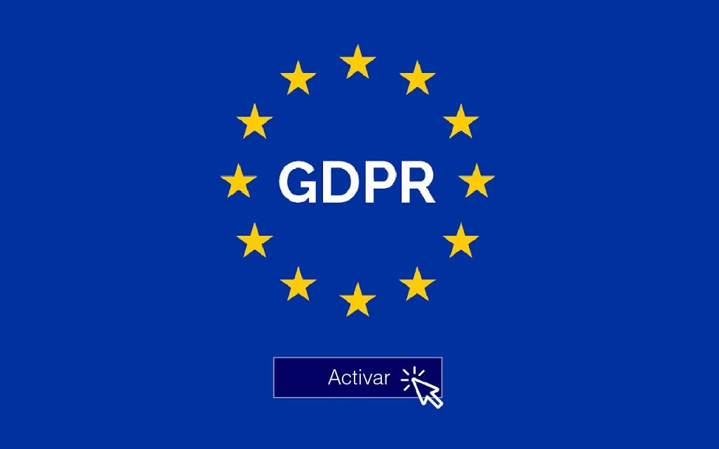 Configuración > Normativas > GDPR > Activar